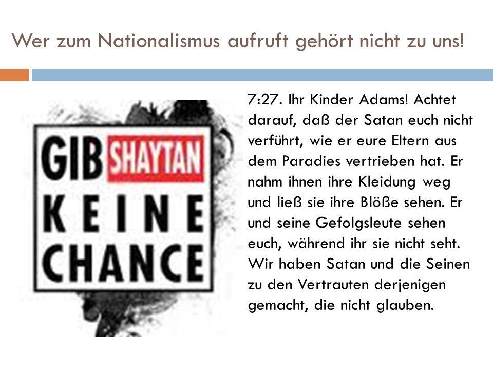 Zukunft/Gegenwart der Nationalisten 17:8.