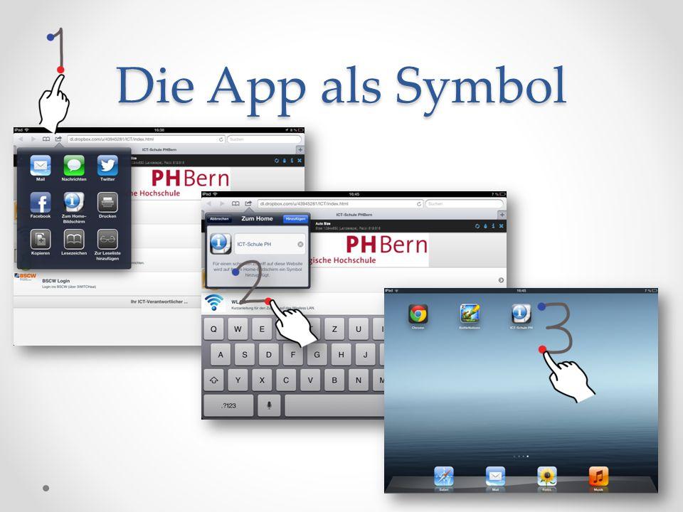 Die App als Symbol