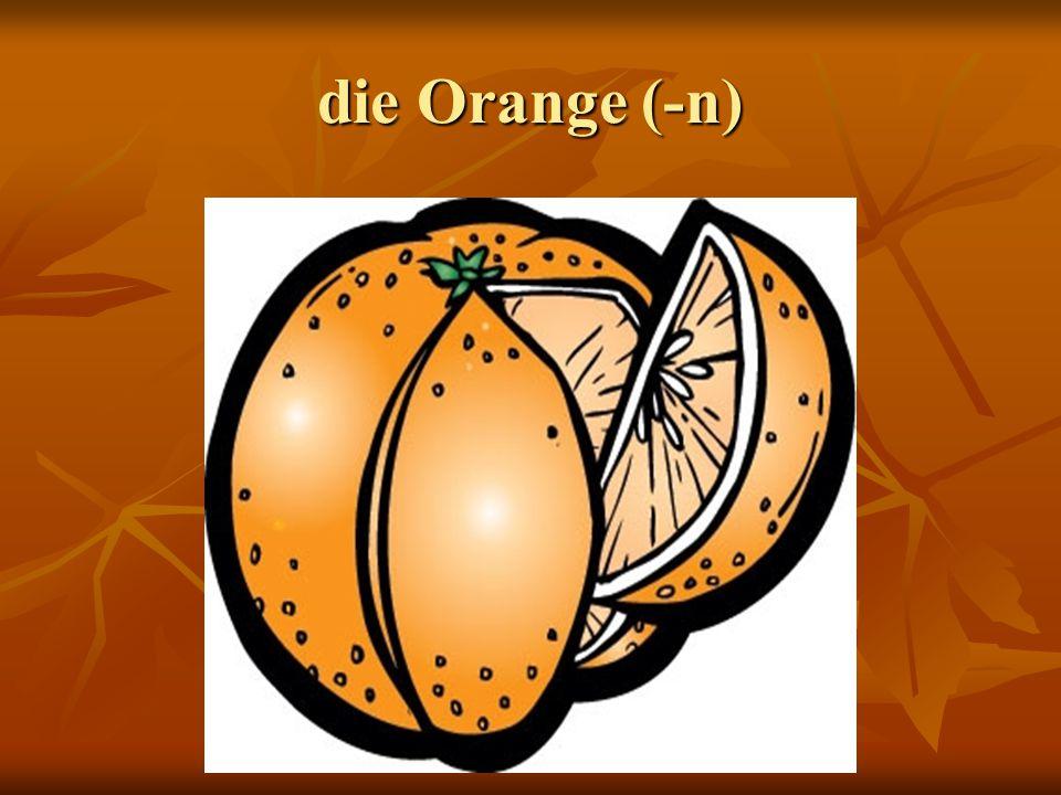 die Orange (-n)