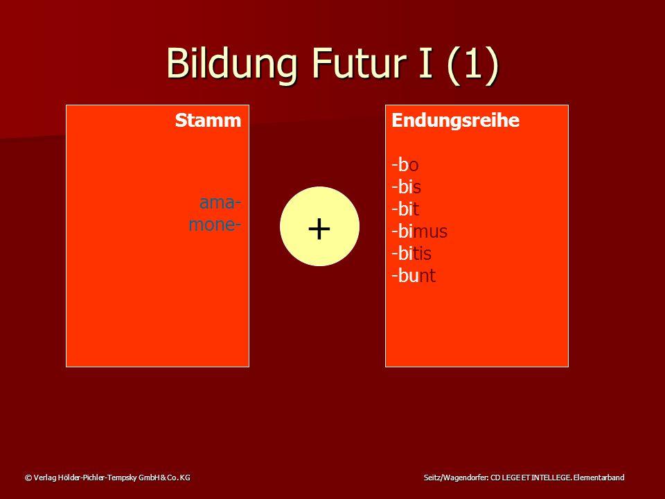 © Verlag Hölder-Pichler-Tempsky GmbH & Co.KG Seitz/Wagendorfer: CD LEGE ET INTELLEGE.