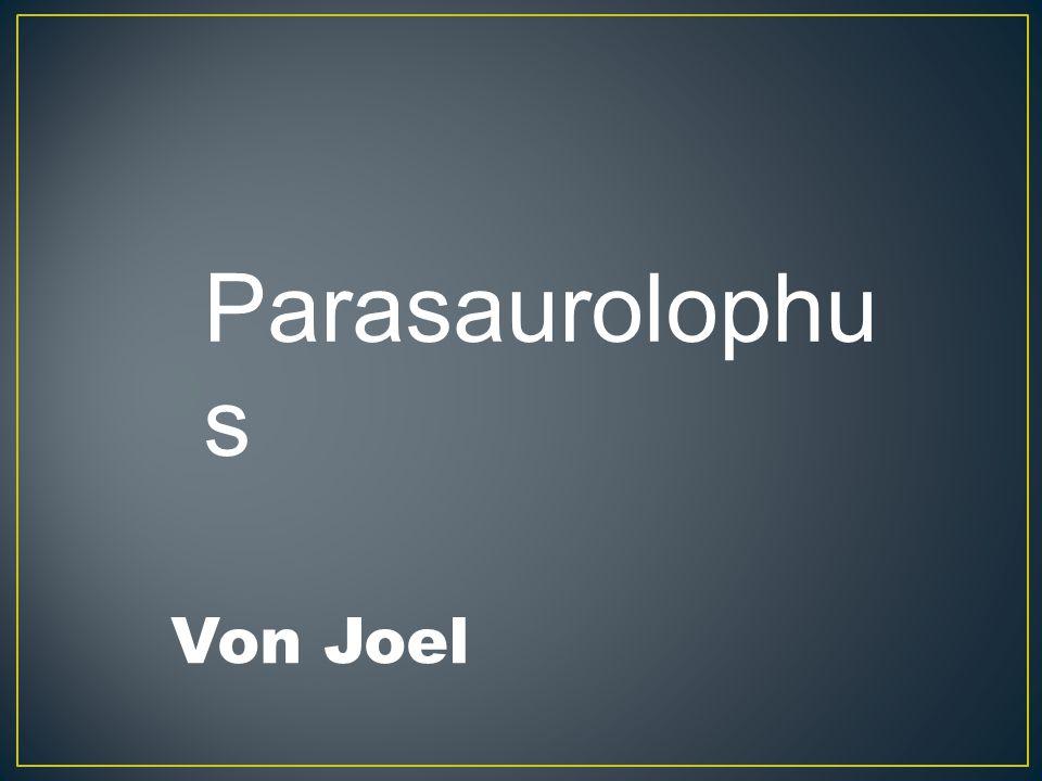 Parasaurolophu s Von Joel