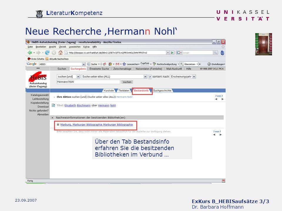 ExKurs B_HEBISaufsätze 3/3 Dr.