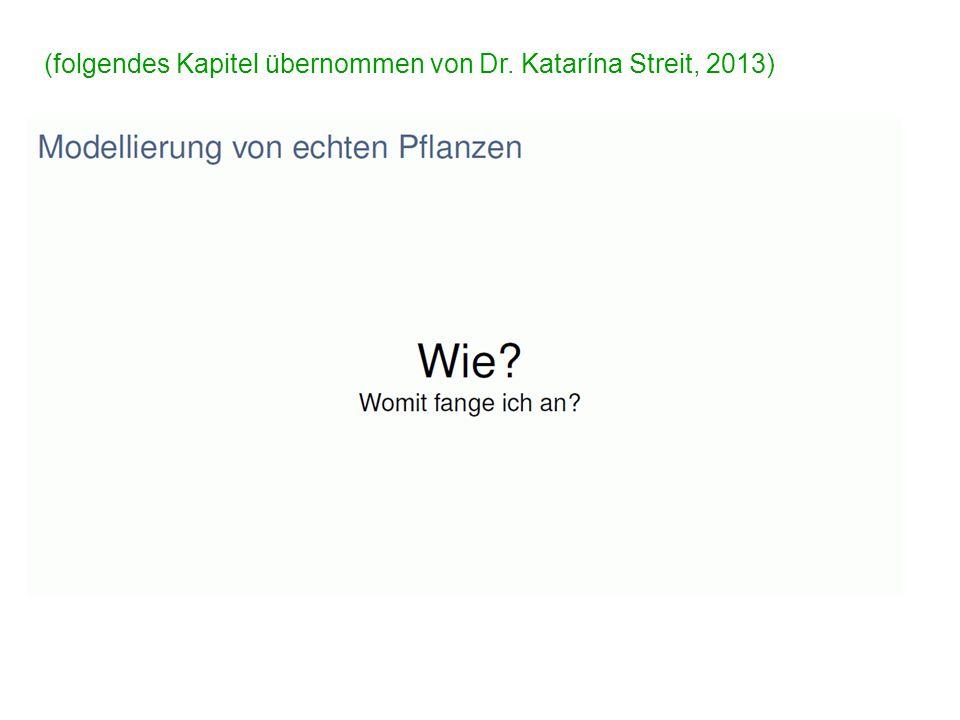 (folgendes Kapitel übernommen von Dr. Katarína Streit, 2013)