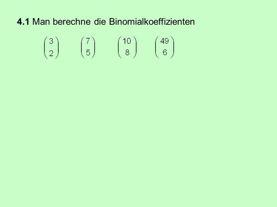 denn (a + b) n liefert genau 2 n Produkte. Blaise Pascal (1623 - 1662)