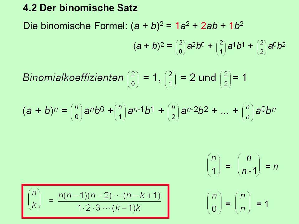 Carl Friedrich Gauß (1777 - 1855) 1 + 2 + 3 +... + 100 100 + 99 + 98 +...