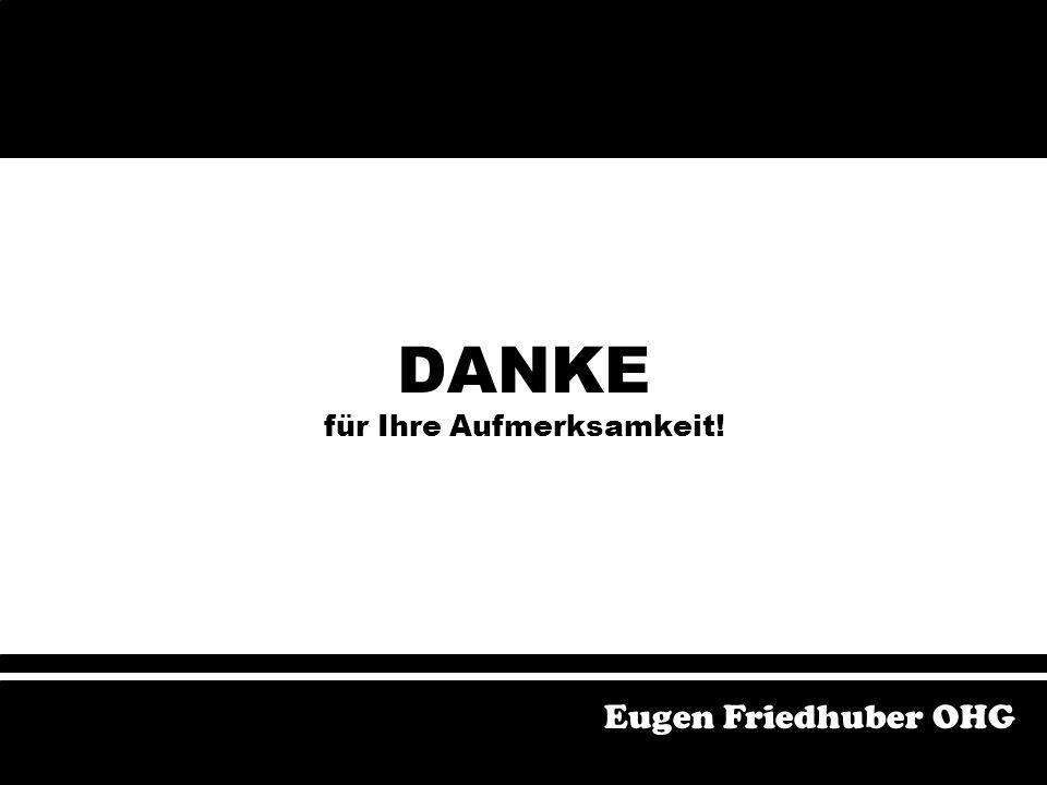 Postaussendung Verwendung der Kundendatei Gewinnspiel Auslage Werbegeschenk Eugen Friedhuber OHG Verbesserungsvorschläge Postaussendung