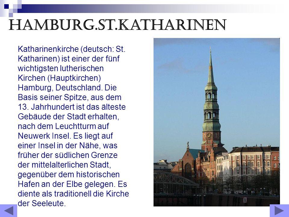Hamburg.St.Katharinen Katharinenkirche (deutsch: St.