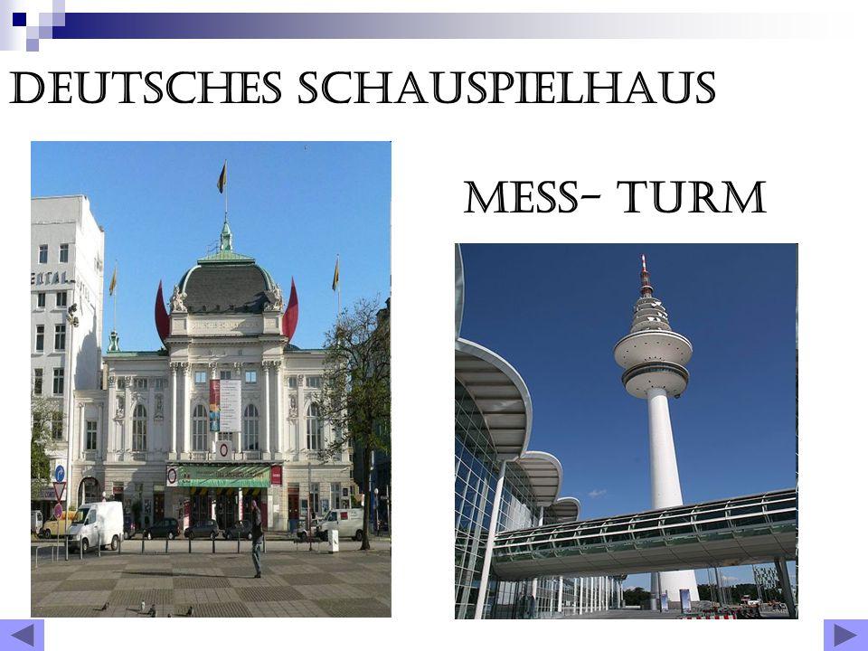 Jn Hamburg, eine Menge Sehenswürdigkeiten.Er reich entwickelten geistig und kulturell.