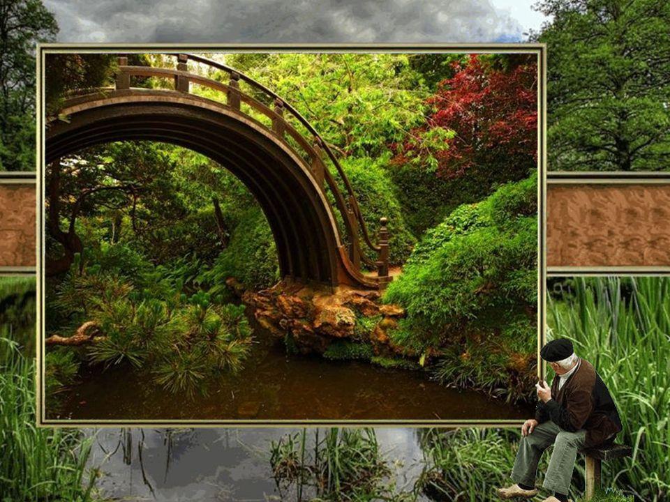 """Weil es ihm eine Freude machen wollte, sagte das Kind: """"Ich schenke Dir meine Brücke."""