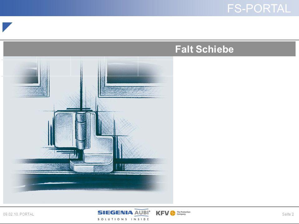 FS-PORTAL Seite 209.02.10. PORTAL Falt Schiebe