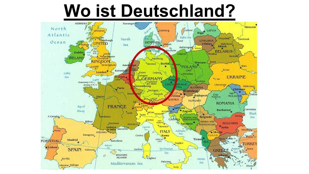 Wo ist Deutschland?
