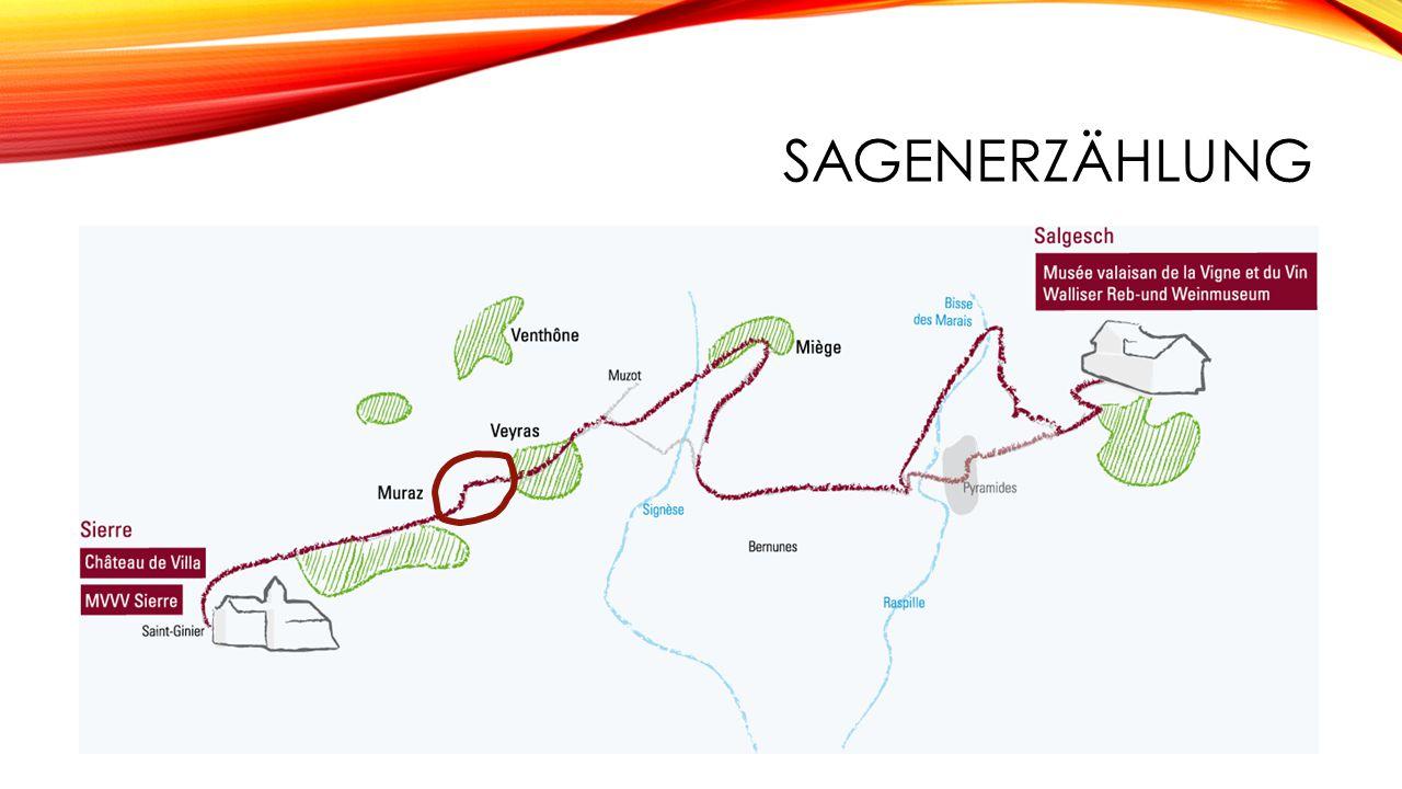 Weissweindegustation -Vortrag über Weinherstellung im Wallis -Sitzgelegenheit und Aussicht über das ganze Tal