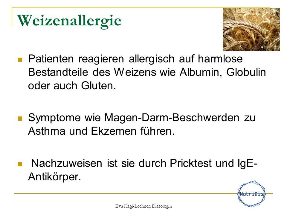 Weizenallergie Patienten reagieren allergisch auf harmlose Bestandteile des Weizens wie Albumin, Globulin oder auch Gluten. Symptome wie Magen-Darm-Be