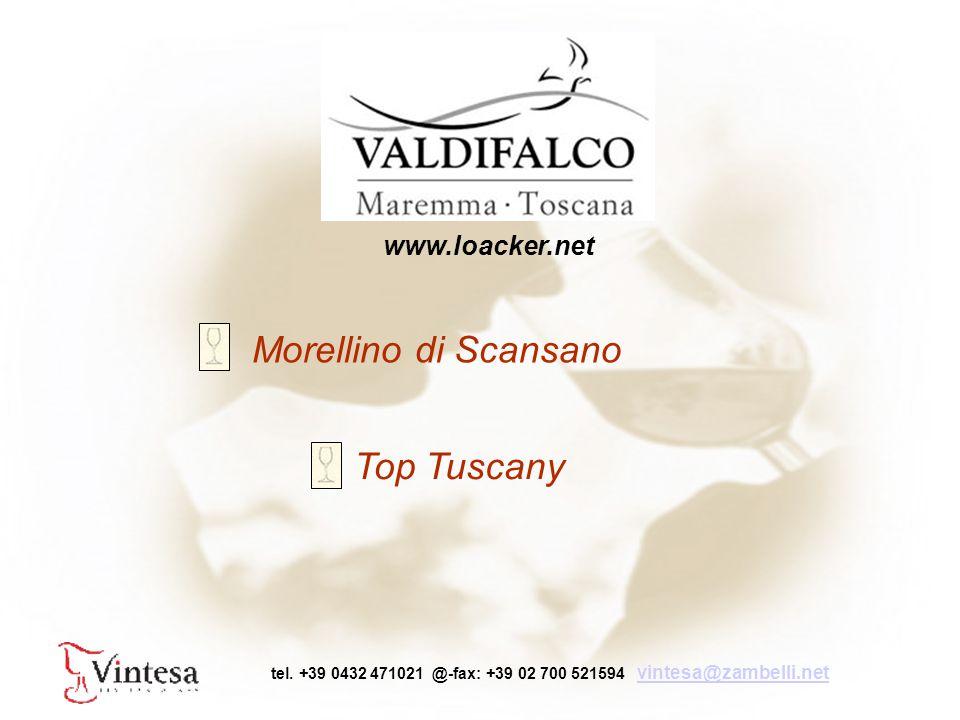 Morellino di Scansano Top Tuscany tel.