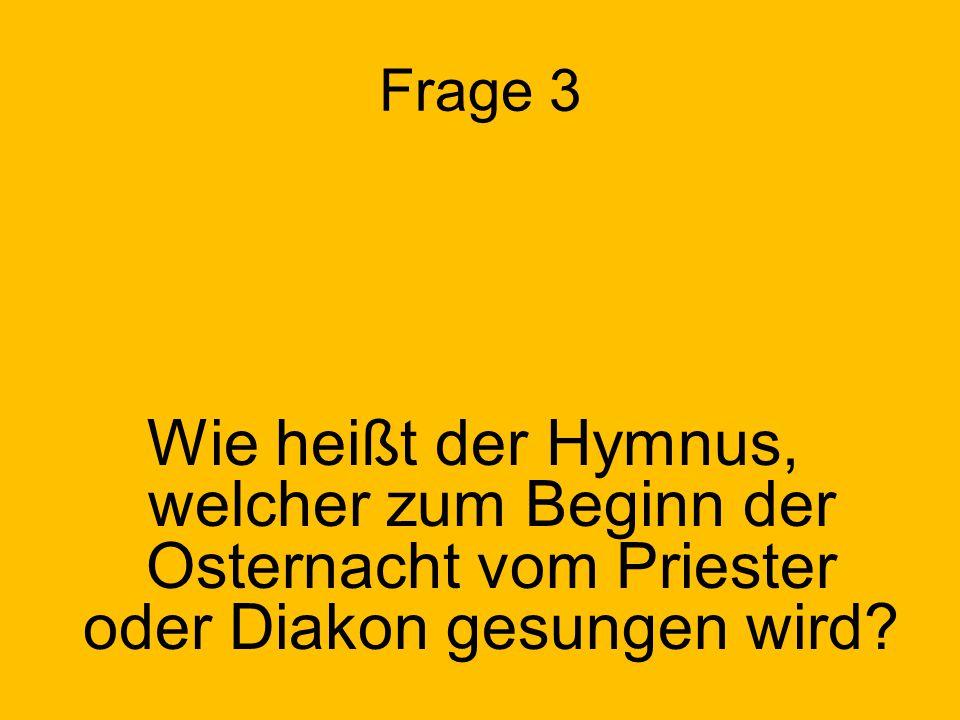 Frage 10 Wie lautet die lateinische Bezeichnung für den 4. Fastensonntag?