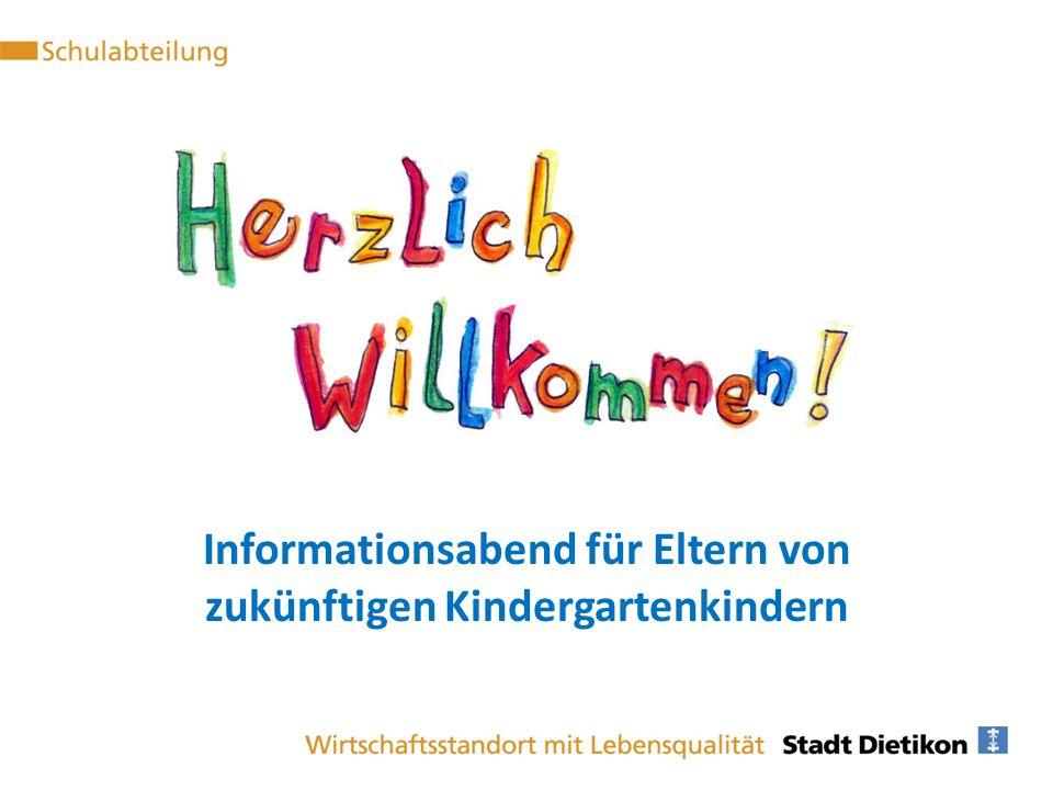 Informationsabend für Eltern von zukünftigen Kindergartenkindern