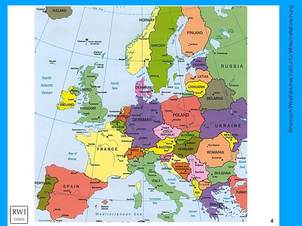 Rheinisch-Westfälisches Institut für Wirtschaftsforschung 5 J Kluve Unemployment in Europe Source: Eurostat