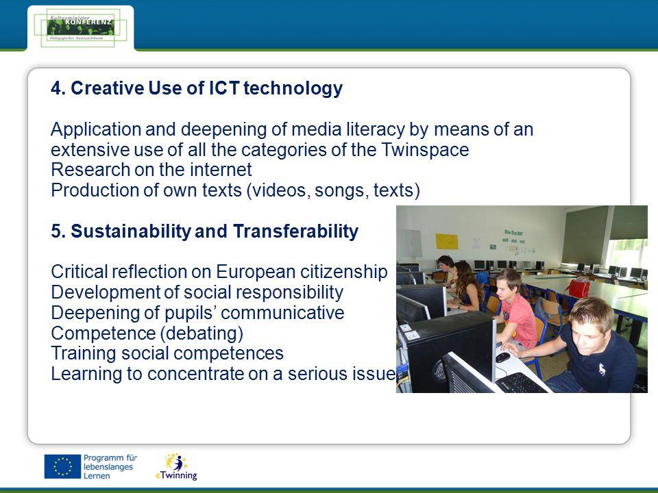 eTwinning - Das Netzwerk für Schulen in EuropaeTwinning - Das Netzwerk für Schulen in Europa 4.