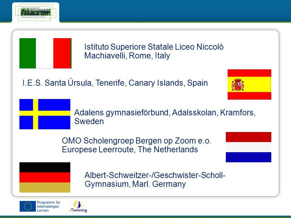 eTwinning - Das Netzwerk für Schulen in EuropaeTwinning - Das Netzwerk für Schulen in Europa Istituto Superiore Statale Liceo Niccolò Machiavelli, Rome, Italy I.E.S.