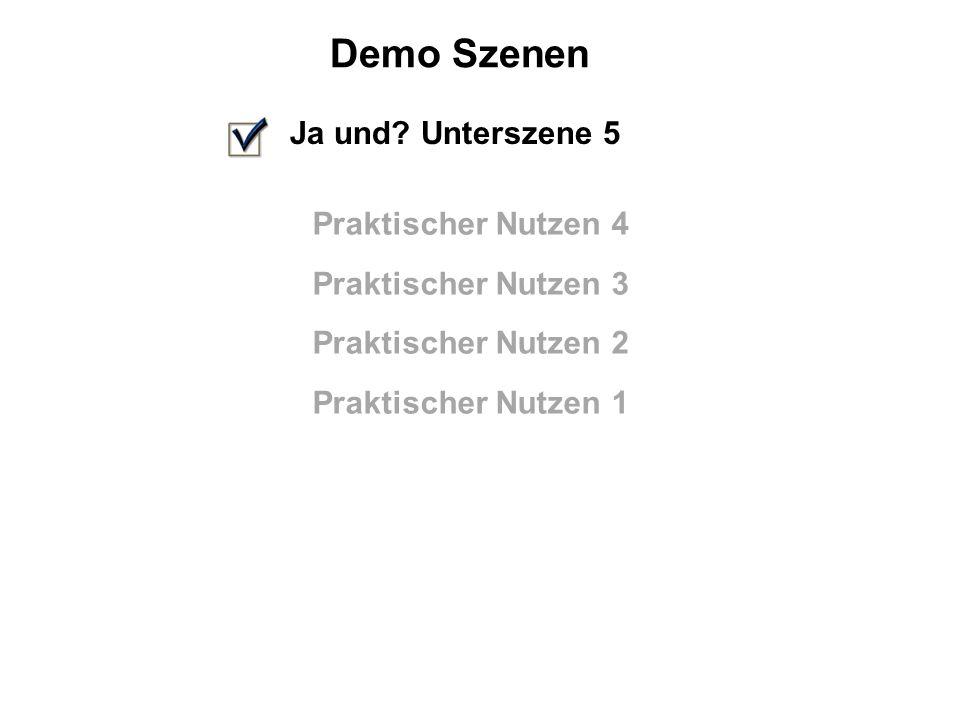 Demo Szenen Ja und.