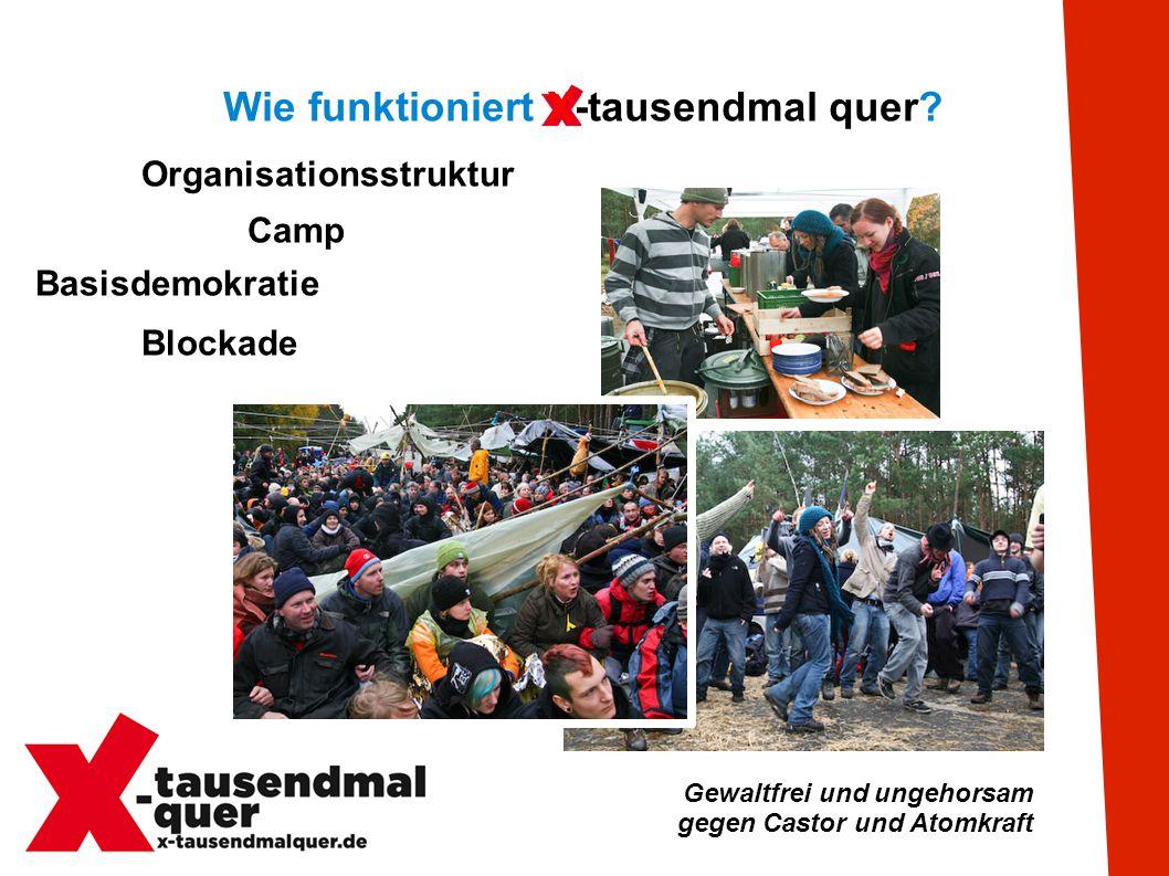 Gewaltfrei und ungehorsam gegen Castor und Atomkraft Termine Seit 14.8.2011 gorleben365 Viele verschiedene Blockaden an 365 Tagen.