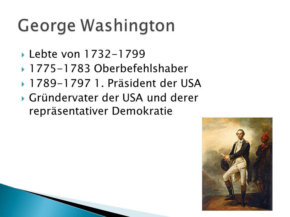  Lebte von 1737-1809  Forderte die Unabhänigkeit  Gründervater der USA  Intelektueller und Autor