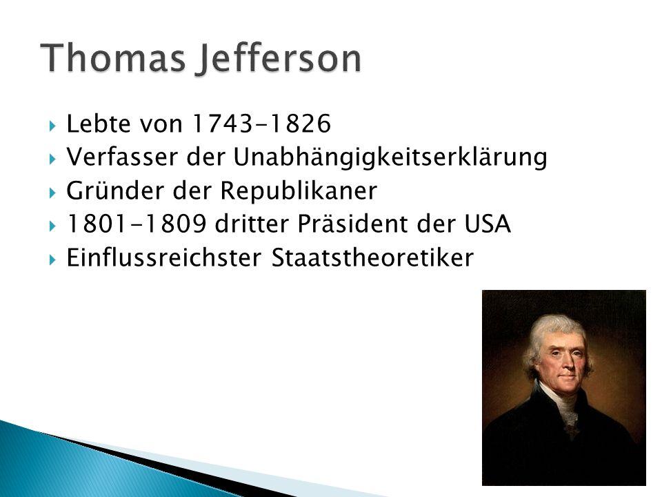  Amerika wurde als eigenständiger Saat anerkannt  Ehm.