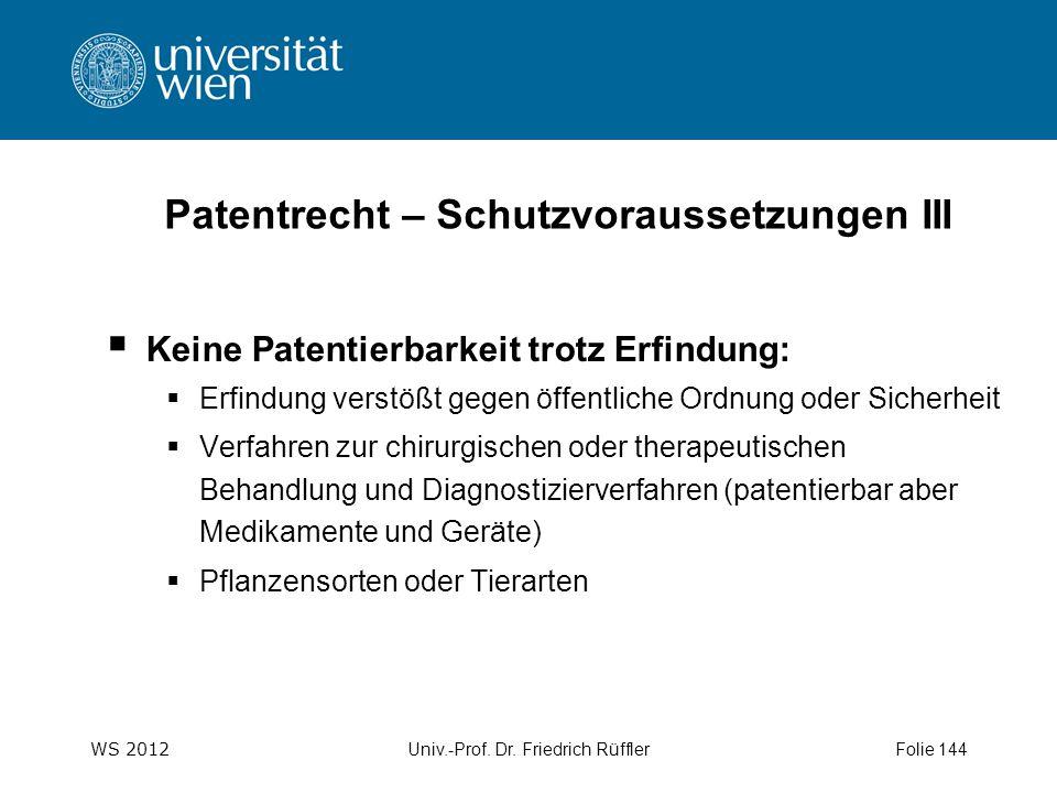 WS 2012 Univ.-Prof. Dr.