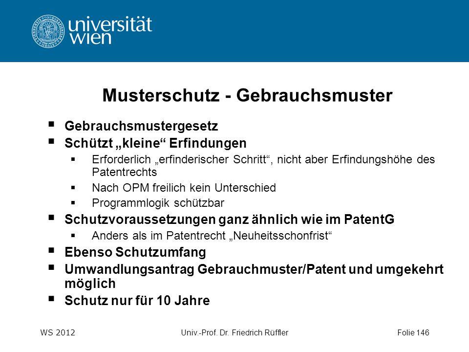 WS 2012 Univ.-Prof.Dr.