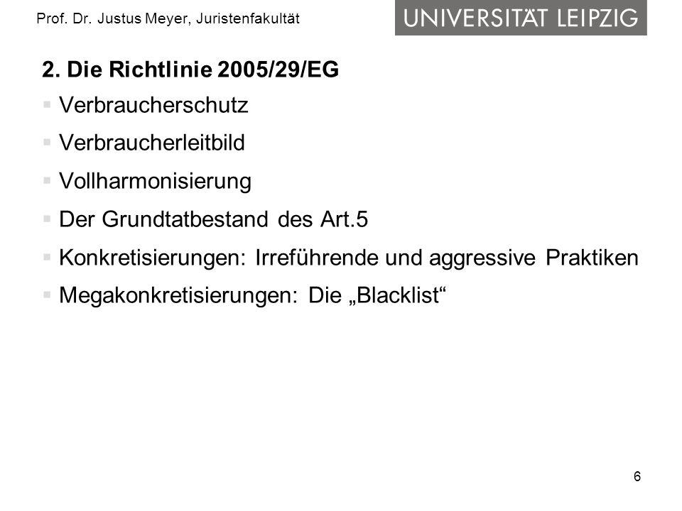 6 Prof. Dr. Justus Meyer, Juristenfakultät 2.