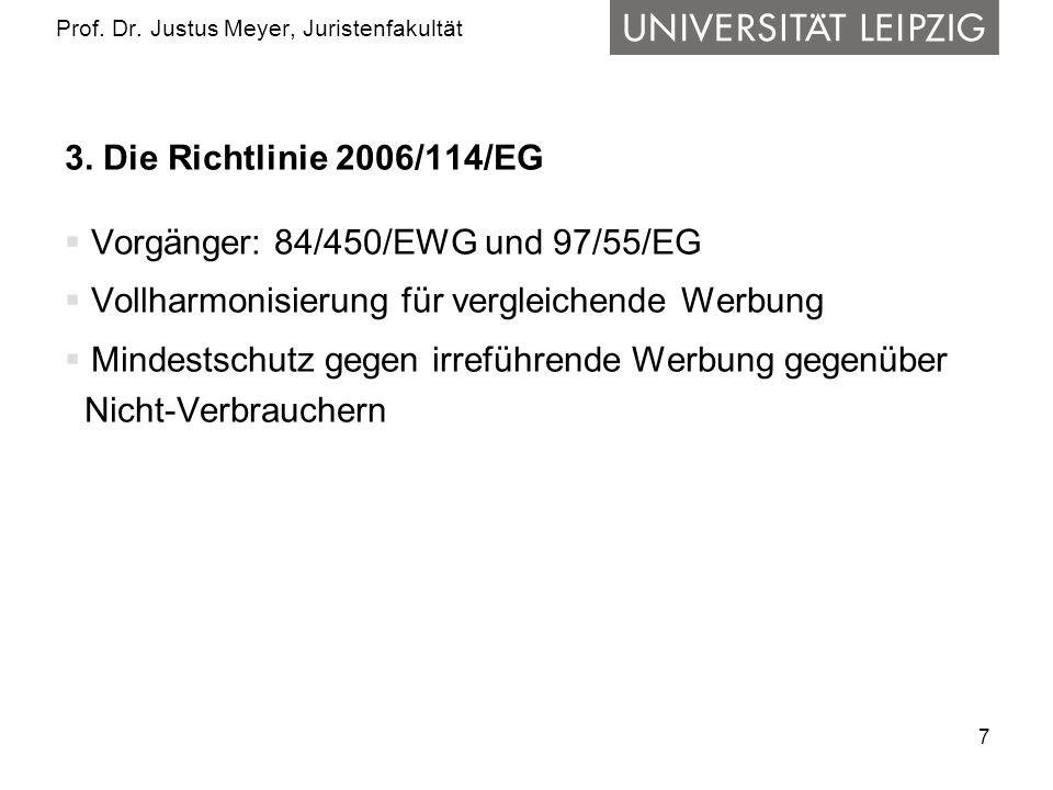 7 Prof. Dr. Justus Meyer, Juristenfakultät 3.