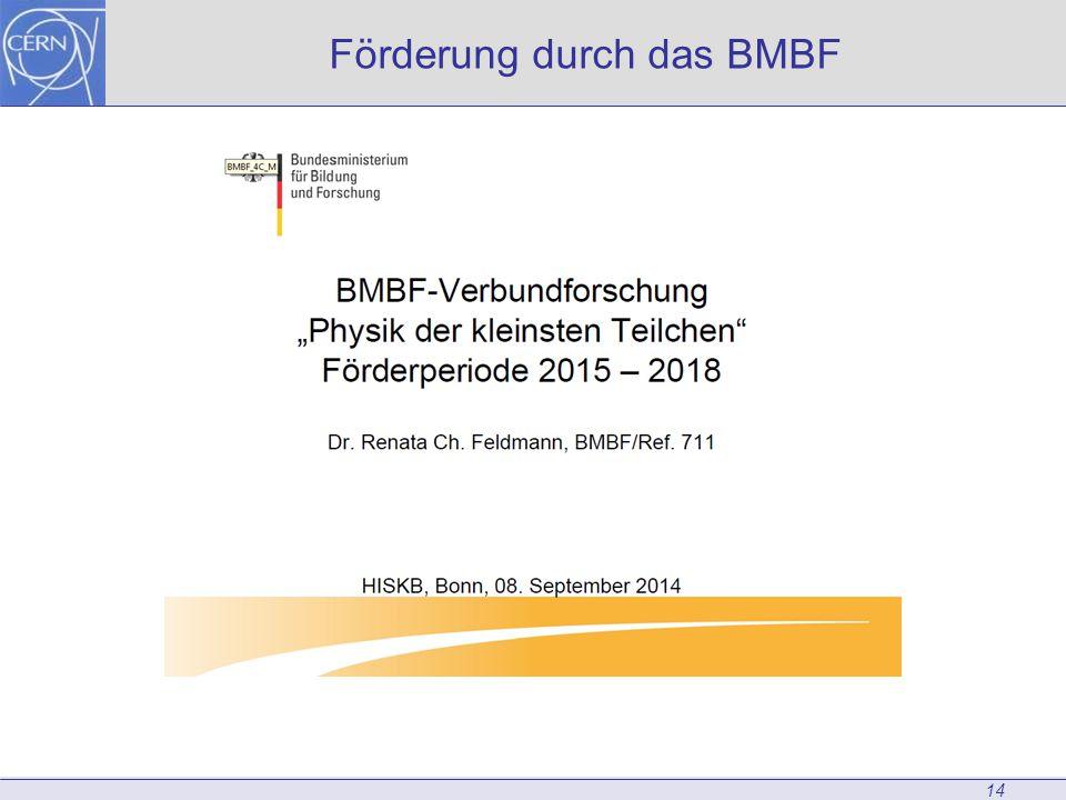 Förderung durch das BMBF 14