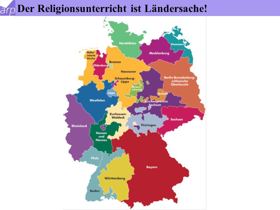 Rahmenbedingungen für den konfessionellen RU Der Staat ist verantwortlich, dass der RU stattfindet und wie er qualifiziert erteilt wird. Die Religions