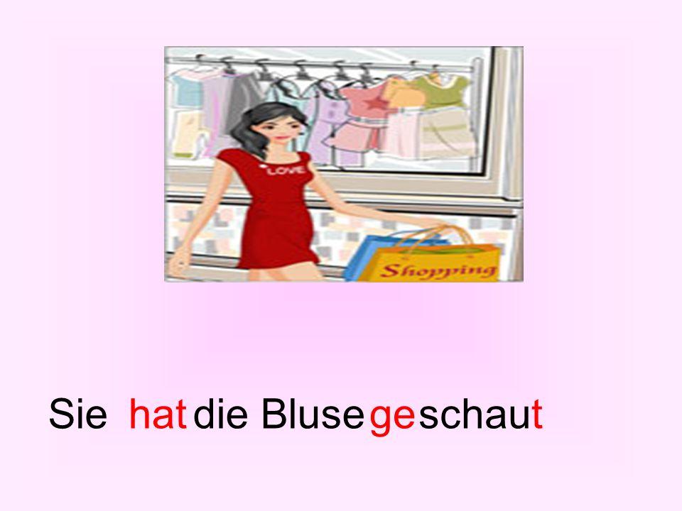 Siehatdie Bluseschauget