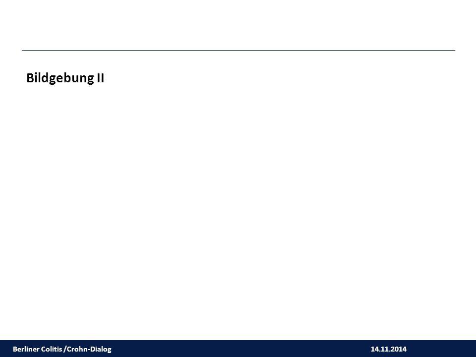 14.11.2014 Bildgebung II Berliner Colitis /Crohn-Dialog