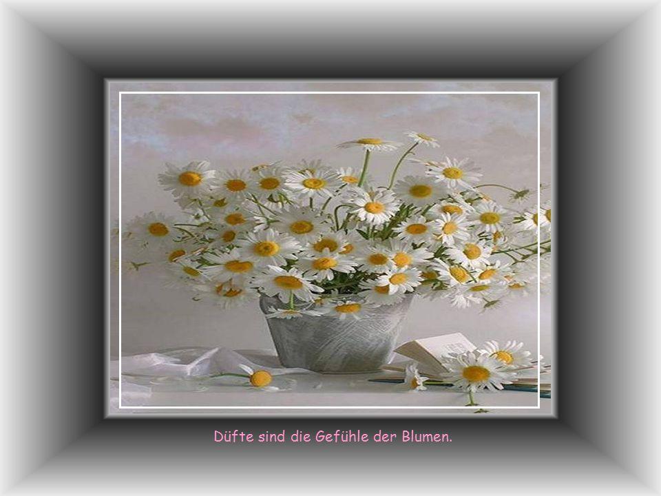 Lass ruhig fliessen der Tränen Lauf, Die Blumen spriessen im Regen auf!