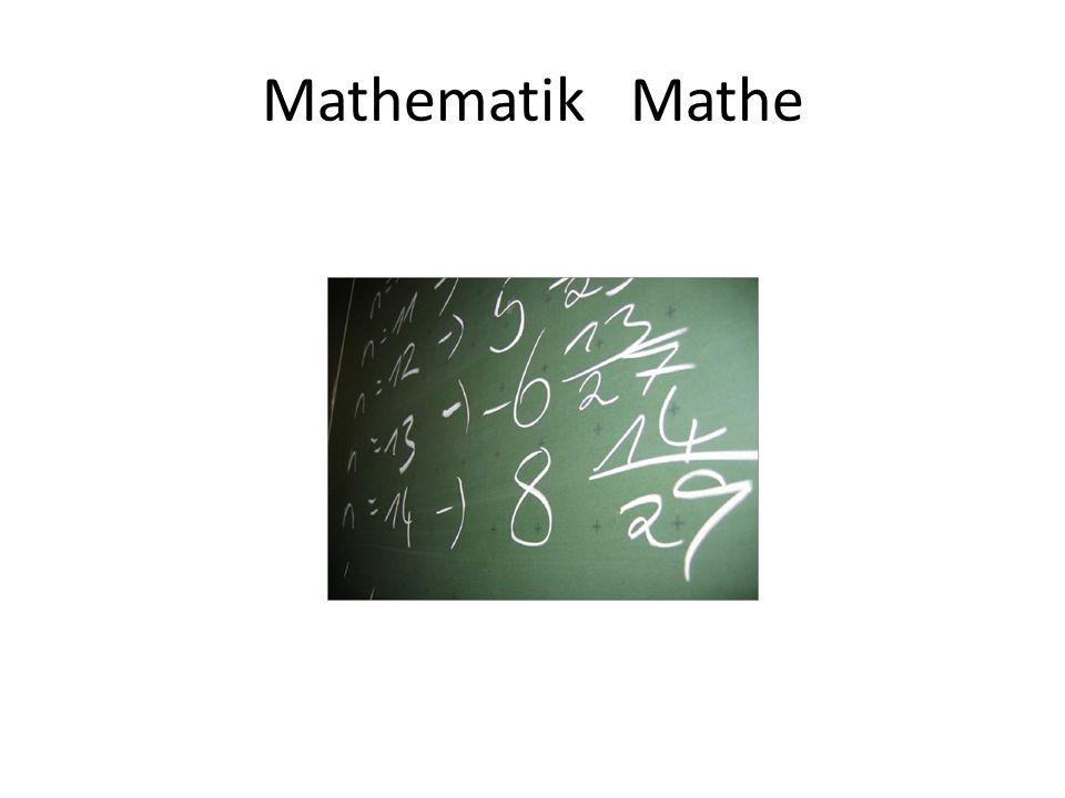 Mathematik Mathe