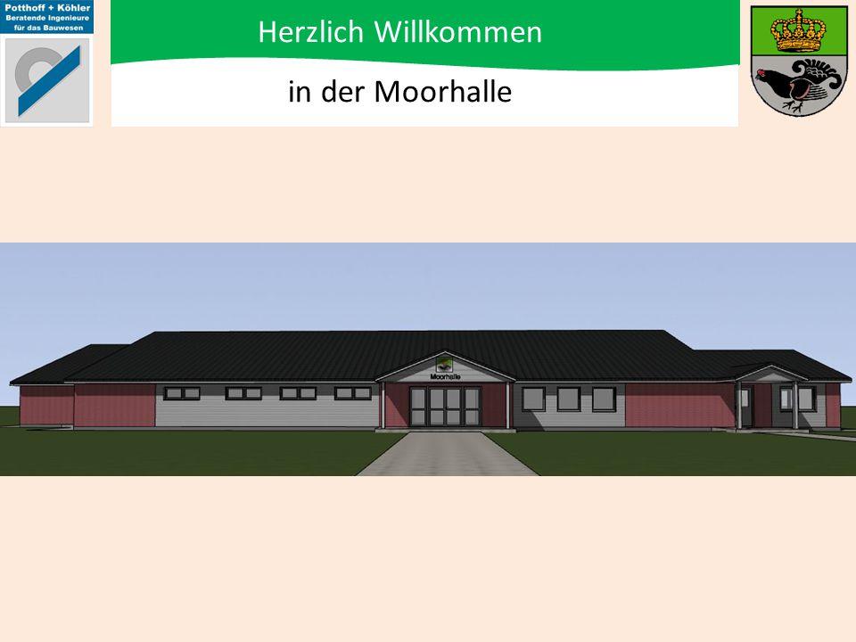 Energetische Sanierung, Modernisierung und Erweiterung der Mehrzweckhalle Königmoor Teil 3: Modernisierung