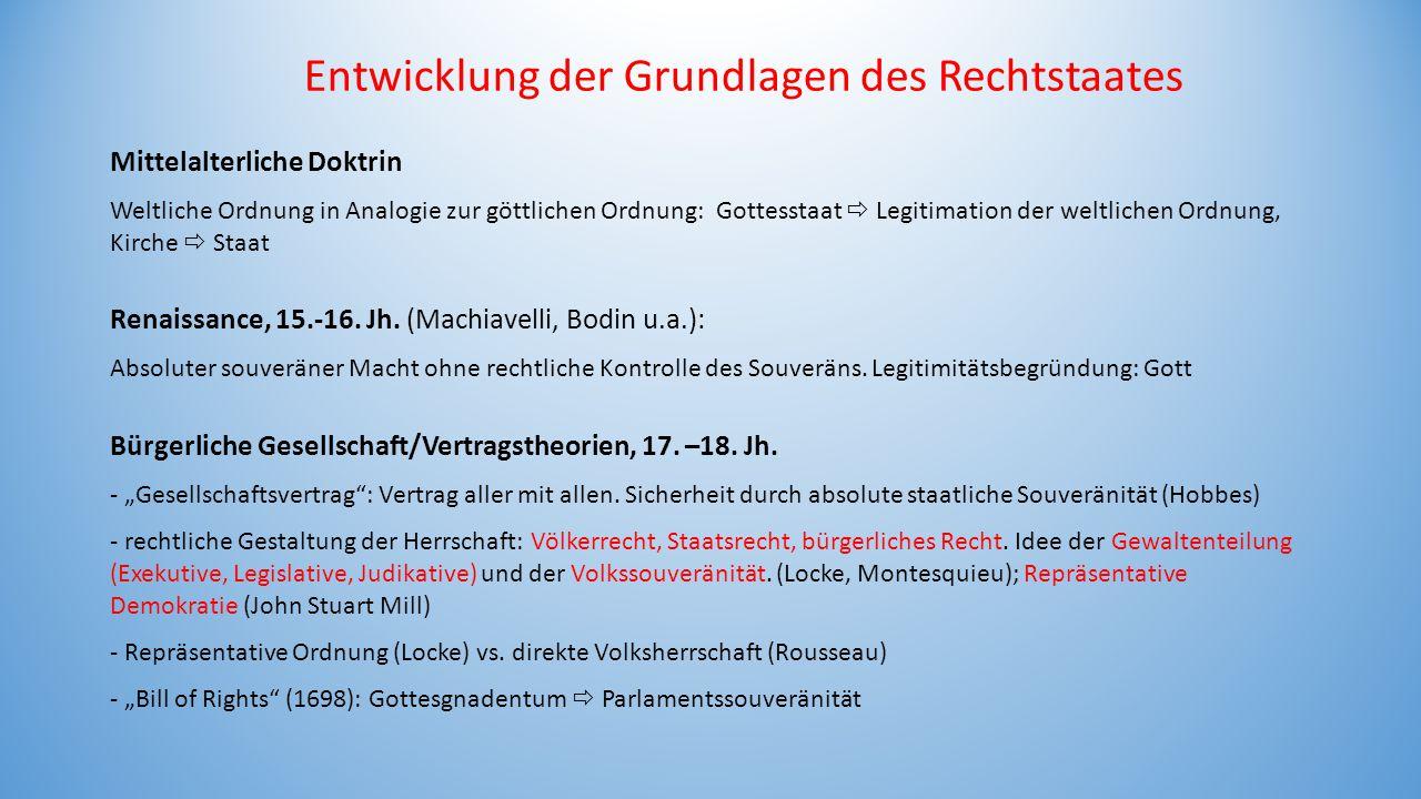 Mittelalterliche Doktrin Weltliche Ordnung in Analogie zur göttlichen Ordnung: Gottesstaat  Legitimation der weltlichen Ordnung, Kirche  Staat Renai
