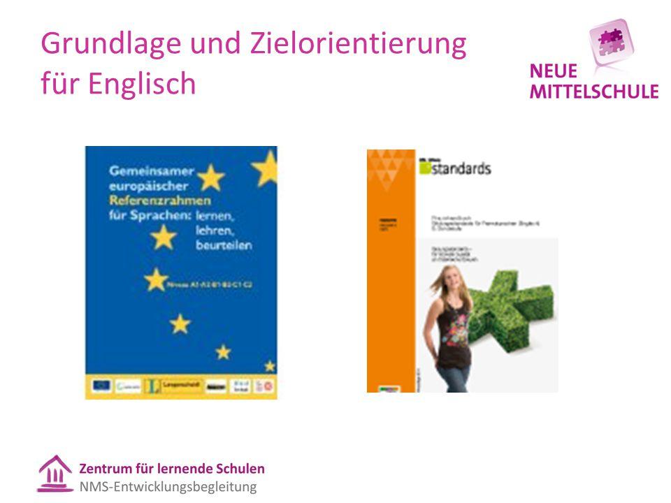 Grundlage und Zielorientierung für Englisch