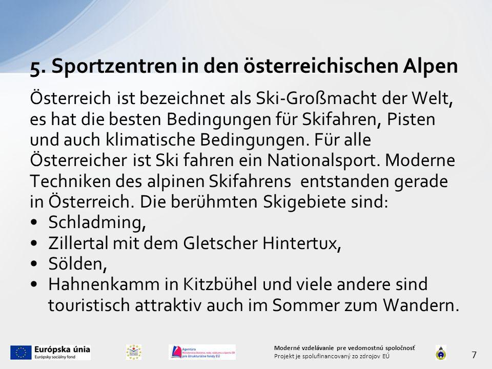 Österreich ist bezeichnet als Ski-Großmacht der Welt, es hat die besten Bedingungen für Skifahren, Pisten und auch klimatische Bedingungen. Für alle Ö