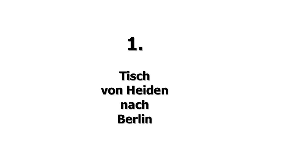 Berlin  Heiden
