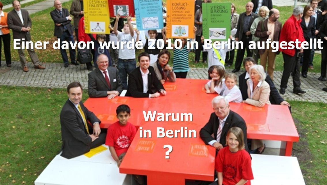 Warum in Berlin … am Warum in Berlin … am Generalsekretariat ? vom Deutschen Roten Kreuz?