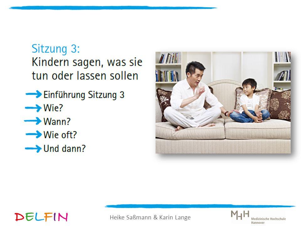Heike Saßmann & Karin Lange Logische Konsequenzen Wenn ein Kind eine Regel oder eine Anweisung nicht beachtet, können Sie als Eltern eine logische Konsequenz folgen lassen.