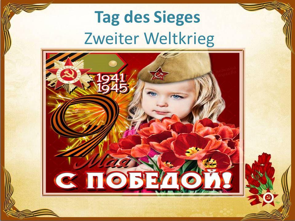 Tag des Sieges Zweiter Weltkrieg