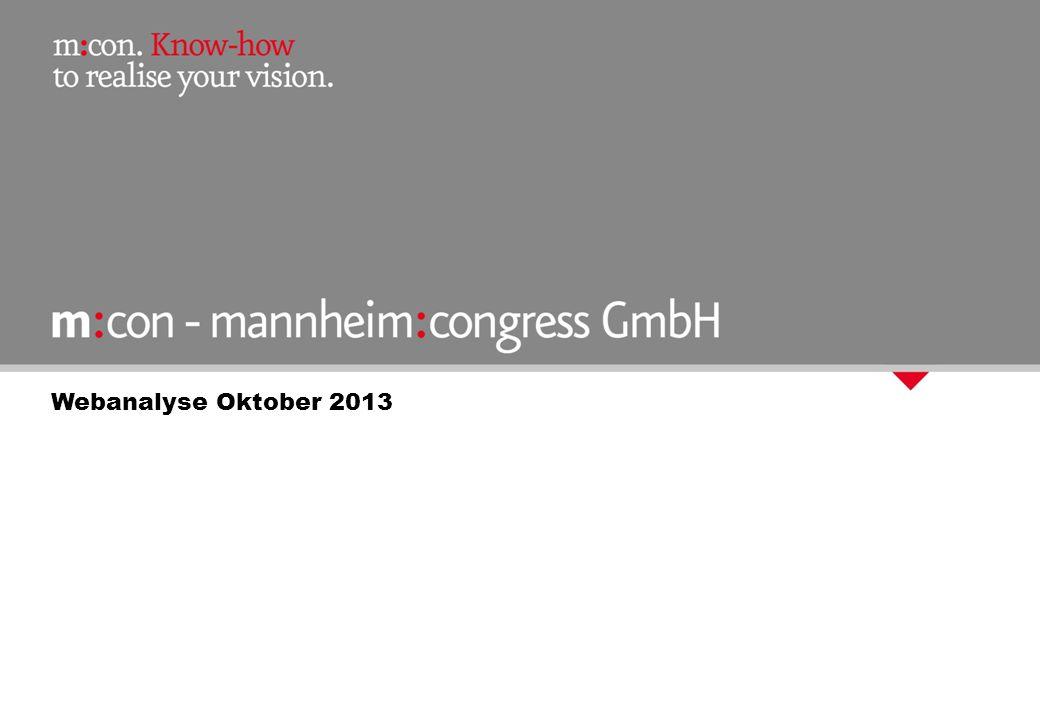 Webanalyse Oktober 2013