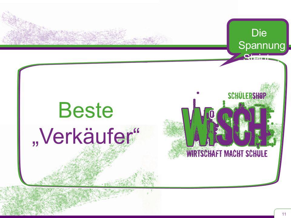 """11 Die Spannung Steigt… Beste """"Verkäufer"""