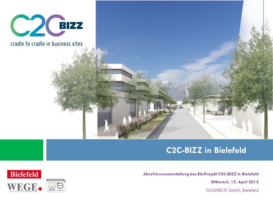 Abschlussveranstaltung des EU-Projekt C2C-BIZZ in Bielefeld Mittwoch, 15.