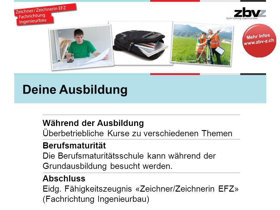 Mehr Infos www.zbv-z.ch Vera, 20, im 4.
