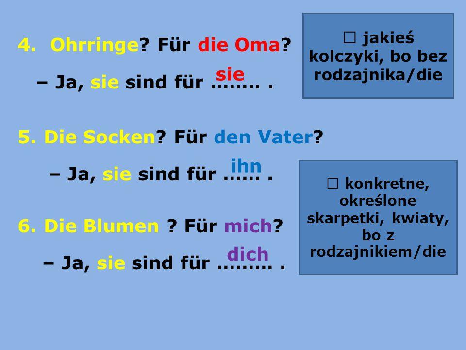Übung 14/ 31 ihm – jemu /ihr - jej 1.Fabian mag Bücher.